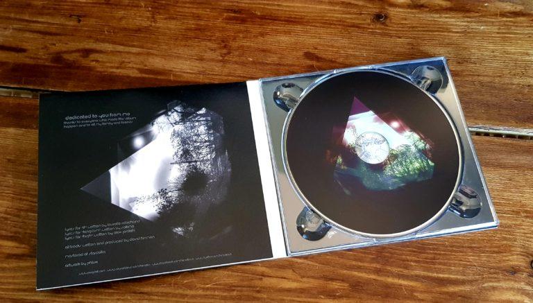 Himalia Distances CD Album Cover Inside